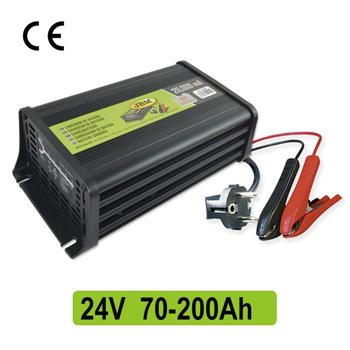 Cargador bateria 24V. Imagen de Elevadores de Coches Automotive Lift and Tools.