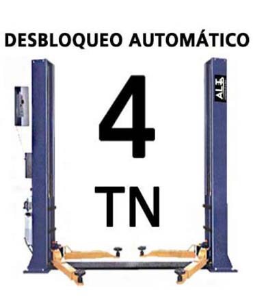 Elevadores de coches. Elevador de 4 Tn. Imagen de Elevadores de Coches Automotive Lift and Tools.