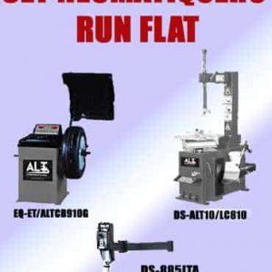Imagen de maquinas de ruedas para runflat. Esta imagen pertenece a Elevadores de Coches Automotive Lift and Tools.