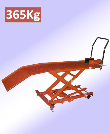 Mesa hidraulica moto