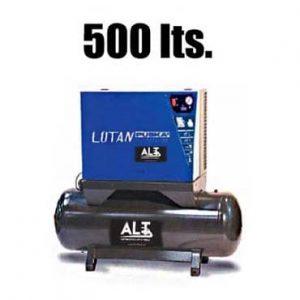 Imagen de Compresor 500 L Insonorizado. Esta imagen pertenece a Elevadores de Coches Automotive Lift and Tools