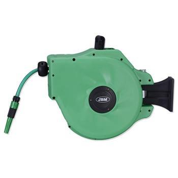 Carrete manguera agua. Imagen de Elevadores de Coches Automotive Lift and Tools.