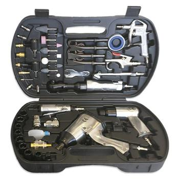 kit pistola y carraca neumaticas. Imagen de Elevadores de Coches Automotive Lift and Tools.