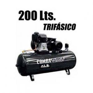 Imagen de Compresor 200 L trifasico. Esta imagen pertenece a Elevadores de Coches Automotive Lift and Tools