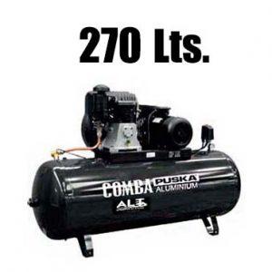 Imagen de compresor 270 l trifasico. Esta imagen pertenece a Elevadores de Coches Automotive Lift and Tools.
