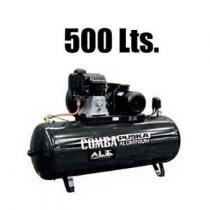 imagen de Compresor 500 L trifasico. Esta imagen pertenece a Elevadores de Coches Automotive Lift and Tools