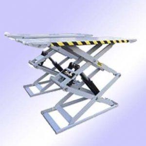 Imagen de elevador de tijera para coche, Esta imagen pertenece a Elevadores de Coches Automotive Lifts and Tools.