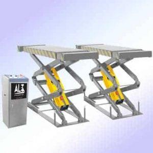 Imagen de Elevador de tijera. Esta imagen pertenece a Elevadores de Coches Automotive Lift and Tools.