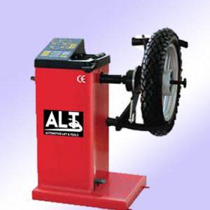 Equilibradora rueda moto