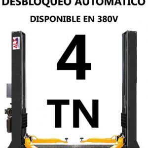 ELEVADOR de Coches de 4 tn. Imagen de Automotive Lift & Tools.